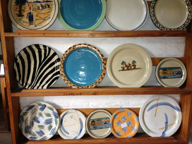 We returned through Msuza and stayed with friends in Lilongwe. It allowed us to have lunch at Dedza pottery on the way home. A few plates were of course bought.